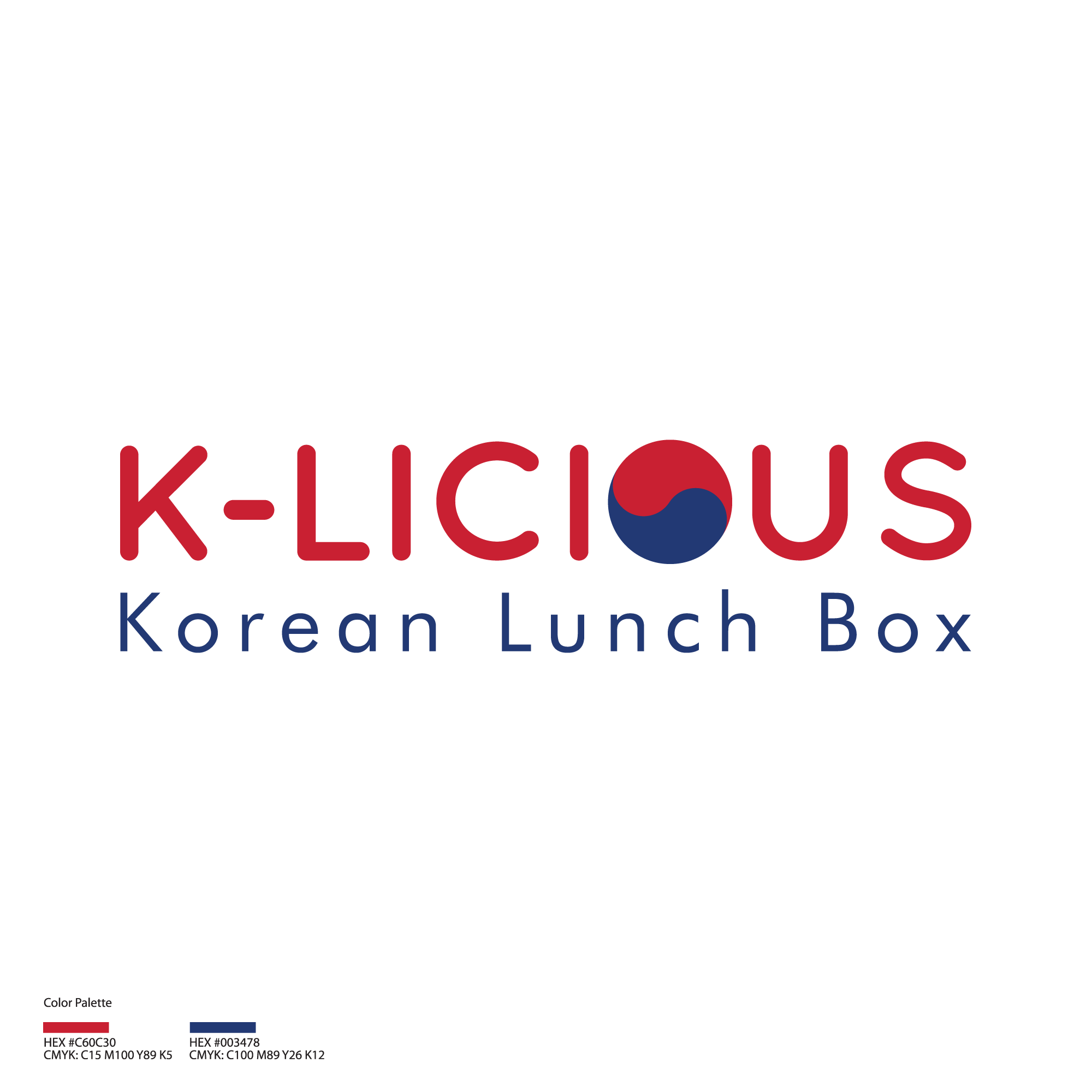 lunch Box for Korean restaurant need a powerful new logo