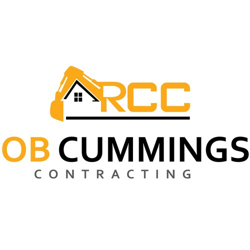 Finally! A cool contracting and construction logo.