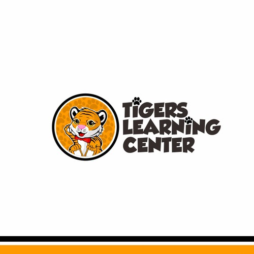 Fun Logo for Tiger Learning Center