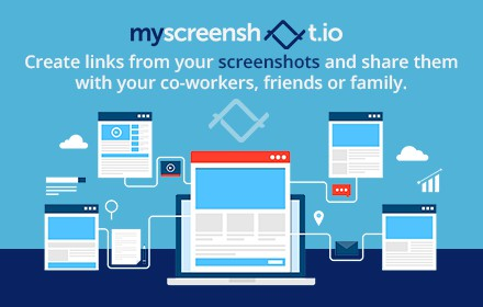 4 Banners for our Screenshot Extension in Google Chrome Store