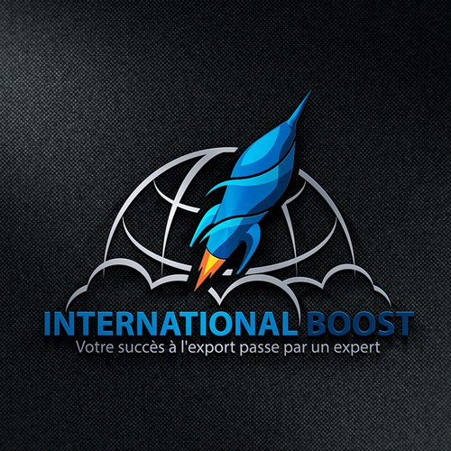 International Boost : Créer un logo percutant, moderne & design(Create a visually stunning logo)