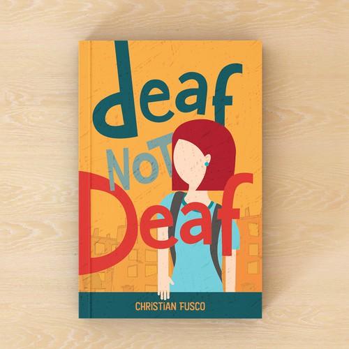 Bold, fun cover for pre-teen book