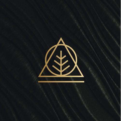 Leaf luxury logo