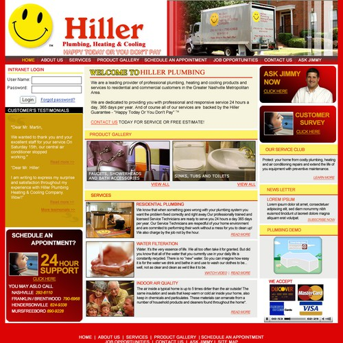 pluming website