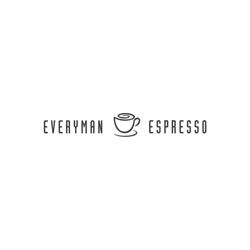 Minimalist coffee house concept