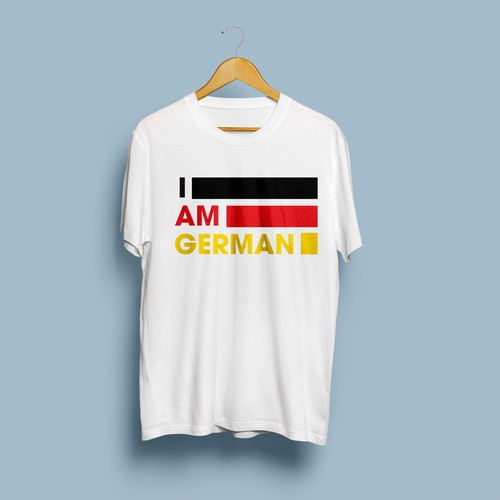 I am german tshit design