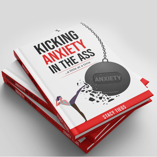 Book cover about beating anxiety