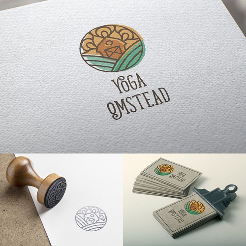 Logo concept for Yoga OmStead