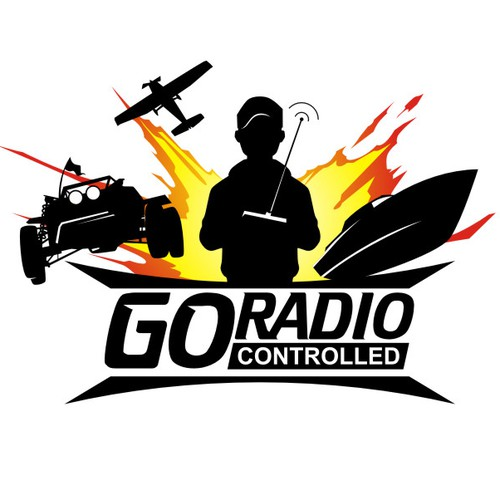 'Go Radio Controlled' Logo