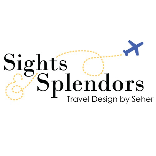 Sights and Splendors Travel Design Logo