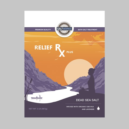 Create the perfect bath salt design for those looking for balance