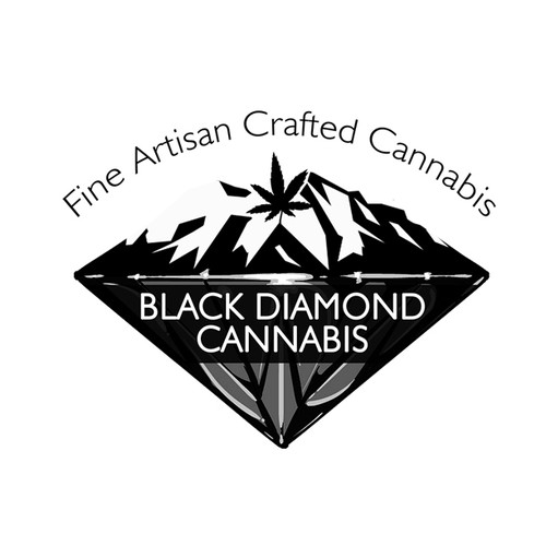 Logo concept for cannabis