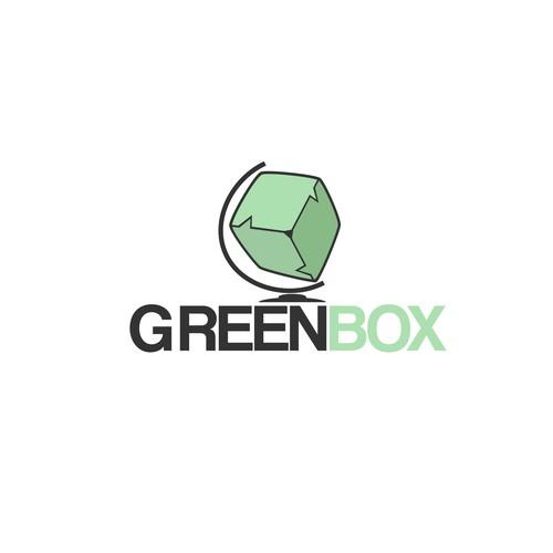Create a lasting logo for GreenBox Worldwide, a social media management company.