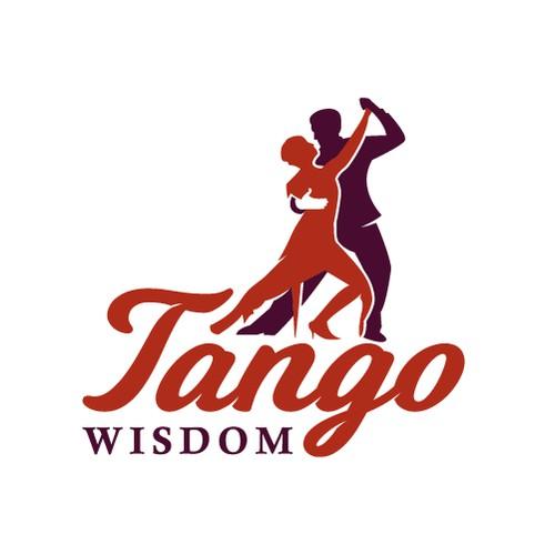 Elegant logo for tango online classes