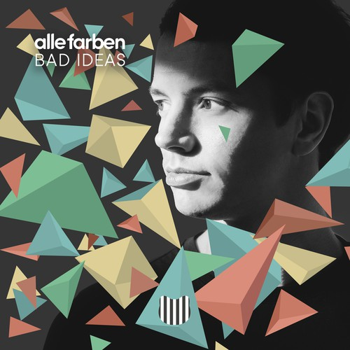 "Cd Cover for ""Bad Ideas"" by Alle Farben"