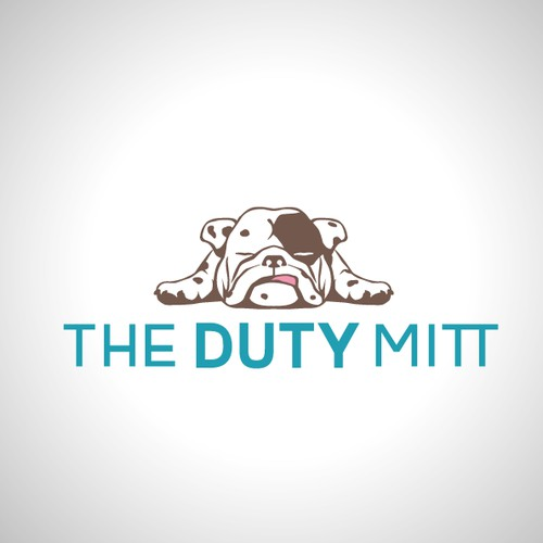 Duty Mitt clean up for pups logo