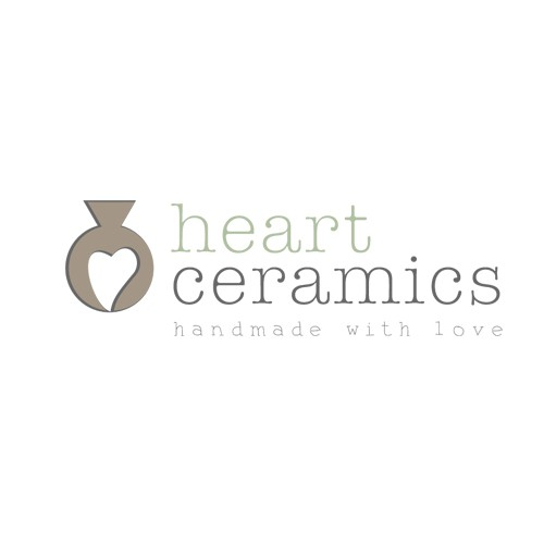 Heart ceramics logo