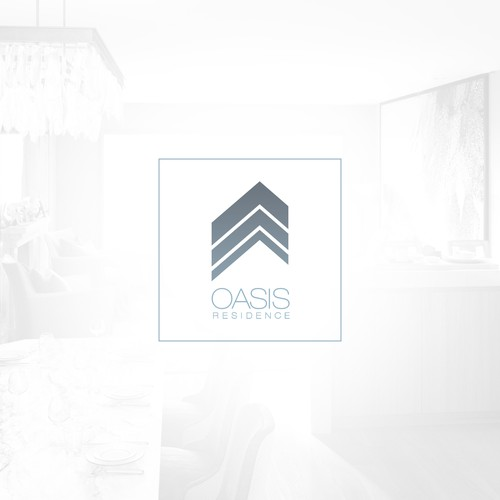 Create a logo for a new luxury residential property in Ulaanbaatar