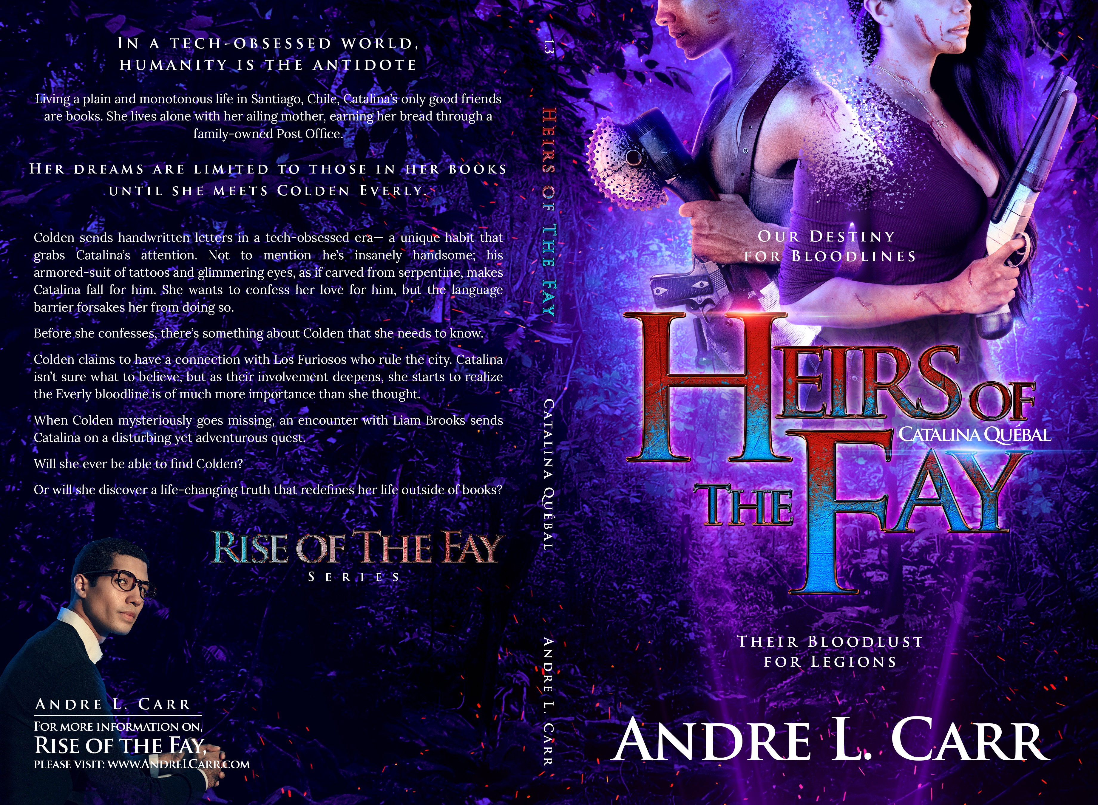Heirs of the Fay: Catalina Cover