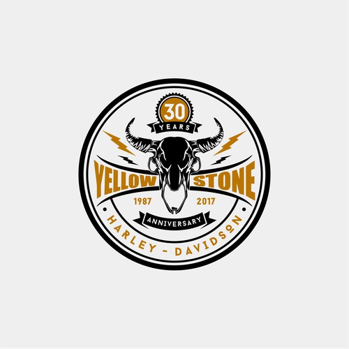 In contest 30th Anniversary Harley-Davidson Dealership Logo