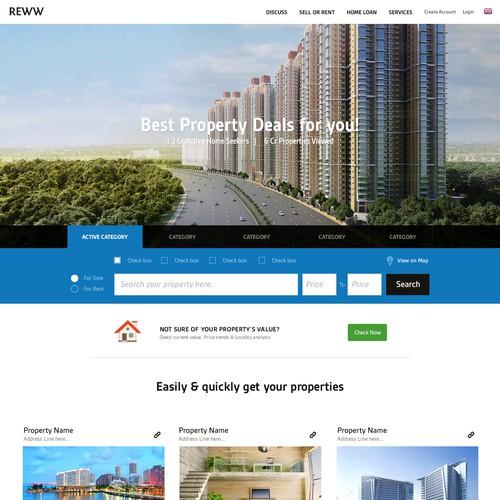 Reww Real estate  design