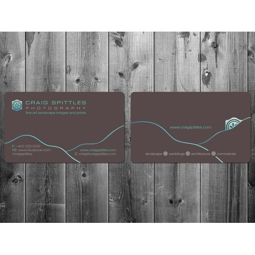 Create the next stationery for Craig Spittles Photography