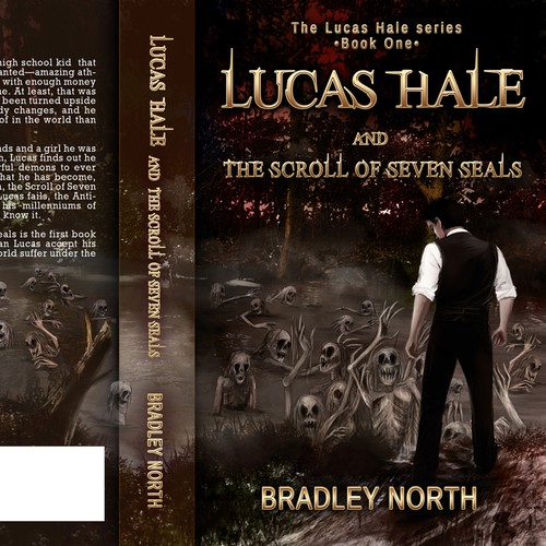 "Cover Needed: ""Lucas Hale and the Scroll of Seven Seals""; New YA Series."