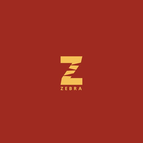 Youthful, neat and eye-catching Zebra logo