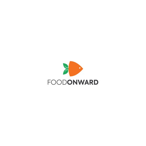 Playful and professional logo for fruit and skin fish processing manufacturing company