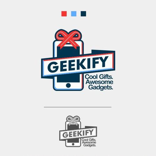 Create a Geeky eCommerce website logo