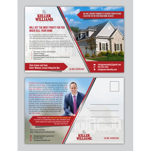 Post card for #1 Real Estate Sales Agent!
