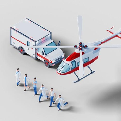 Medical 3D elements