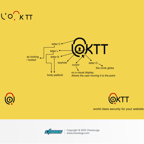 Create a strong logo for LOKTT
