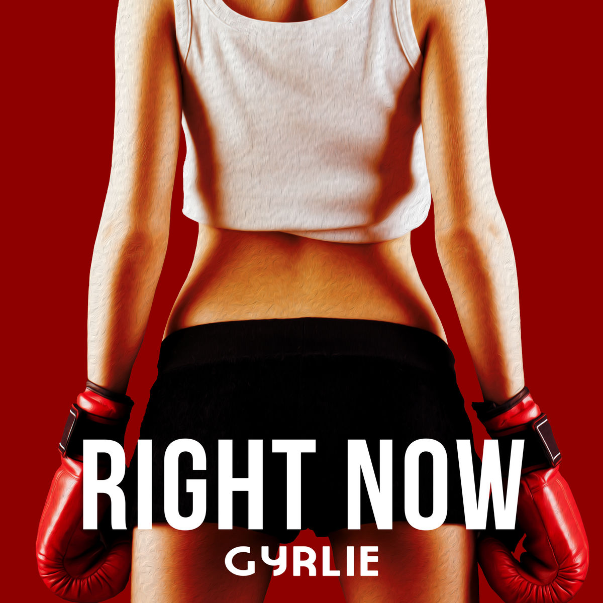 """Album cover design for Gyrlie """"Right Now"""", and update  for Gyrlie """"I Feel Sun"""" (REMIXES)"""