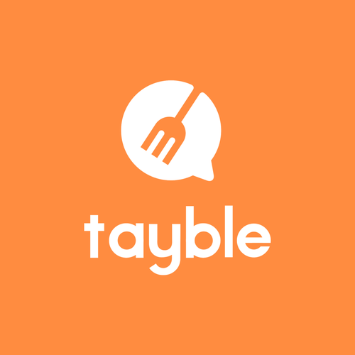 Simple logo design for Tayble