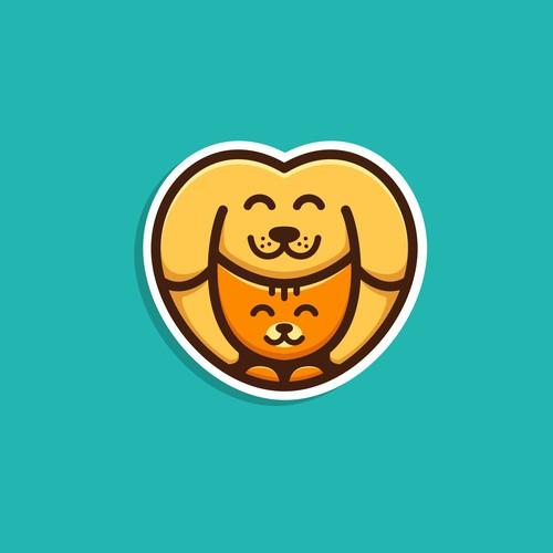 Dog & Cat Logo #3 (Unused Design)