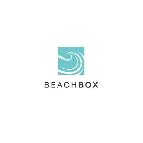 Create a Simple Unique Business Logo for BeachBox Subscription Boxes