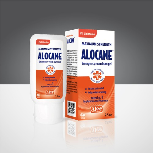 Looking for a Great New Pakcage for Alocane Emergency Room Burn Gel