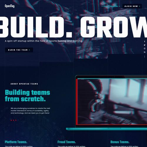 Tech startup boutique software company