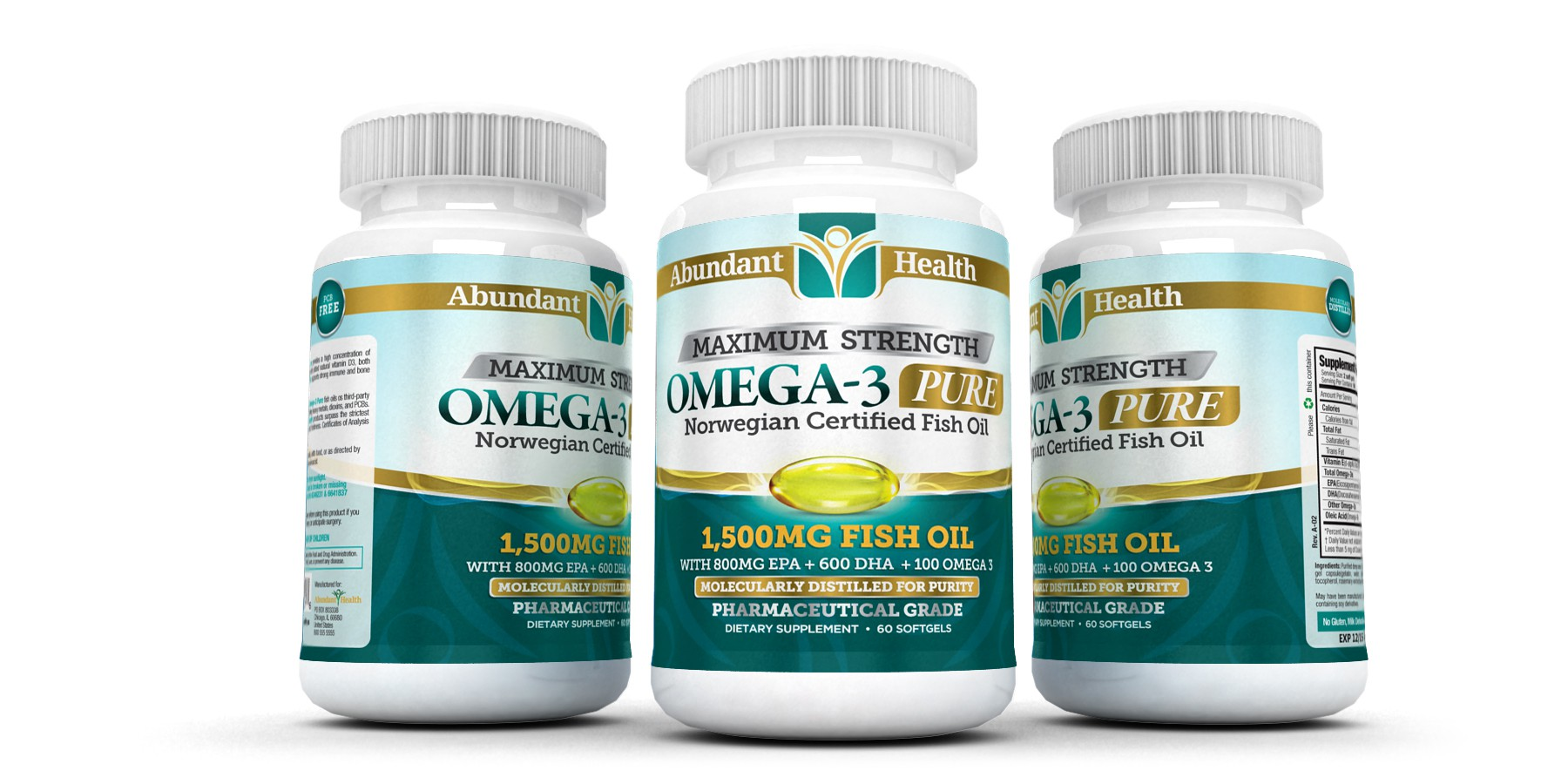 Help Abundant Health with a new product label