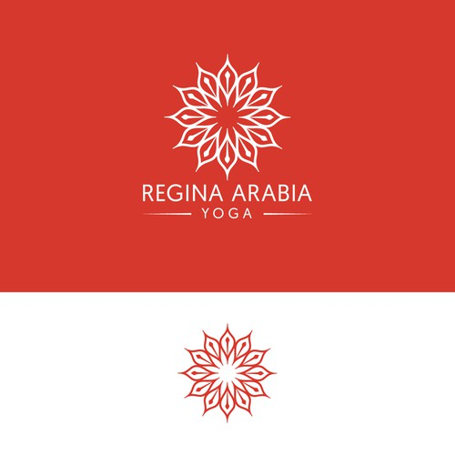 Regina Arabia Yoga logo