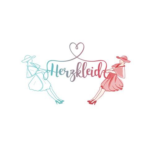 Logo for vintage inspired women's clothing