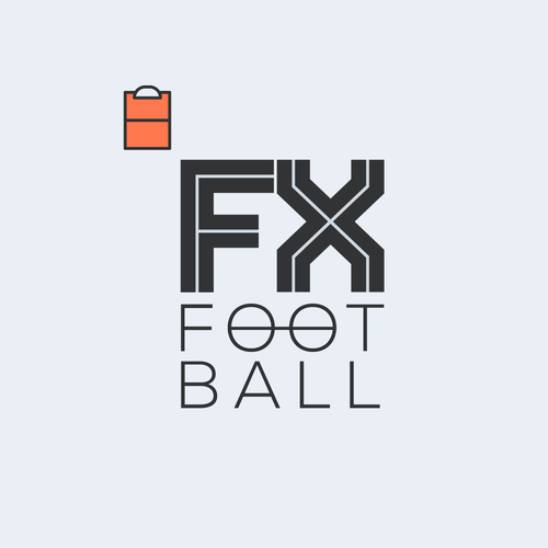 Logo design for FX Football