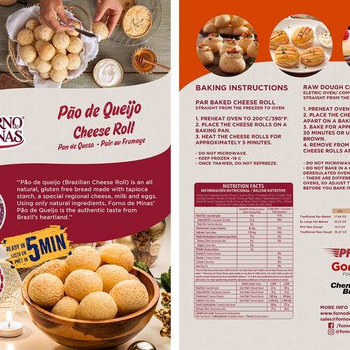 Sales Sheet for Forno de Minas