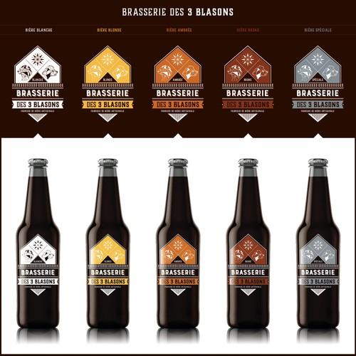 Étiquette de bière