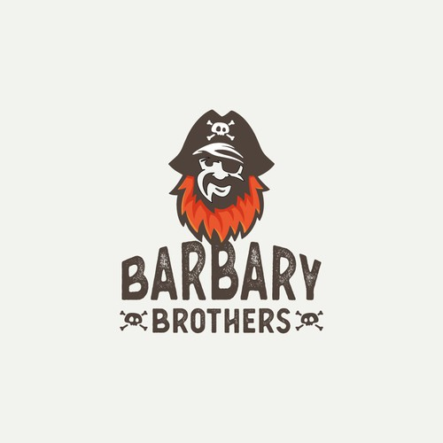 Pirate Barber Logo