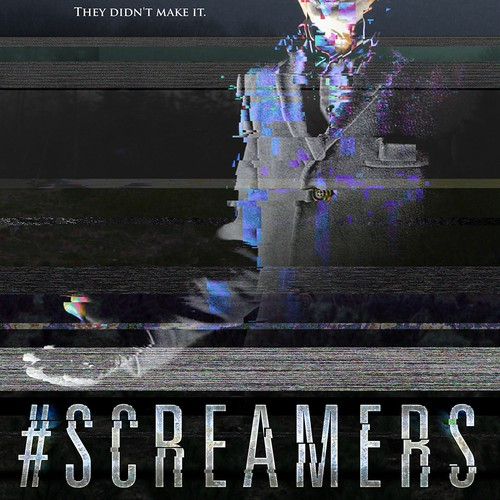 "Movie poster for horror film ""Screamers"""