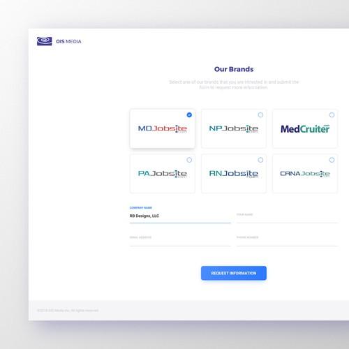 OIS Media Landing Page