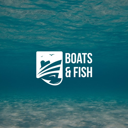 Logo for fishing boat.