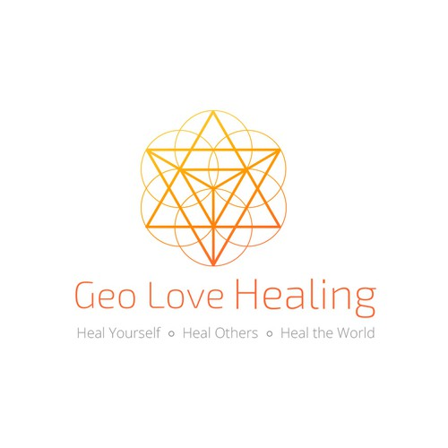 Logo for healing center